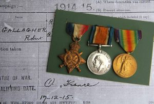 Gallagher WW1 Medals