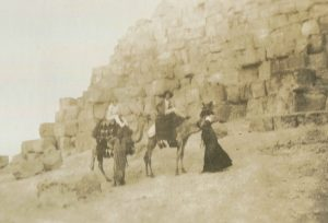 Mabel and her Auntie at the Foot of the Pyramids of Gizajpg