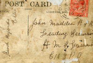 Postcard Button