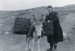Man with Donkey